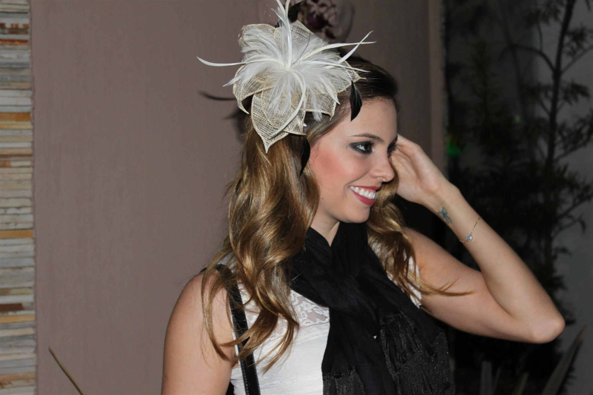 Bolsa De Festa Zara : Look do dia acess?rio pra cabelo sarah le?o