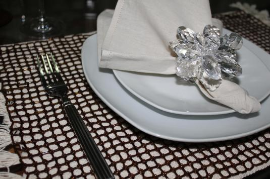 decoração de mesa
