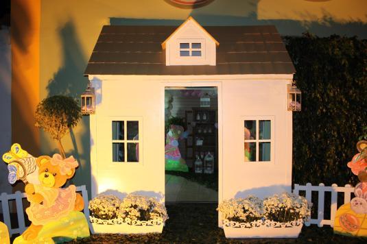 Decoração festa Luma