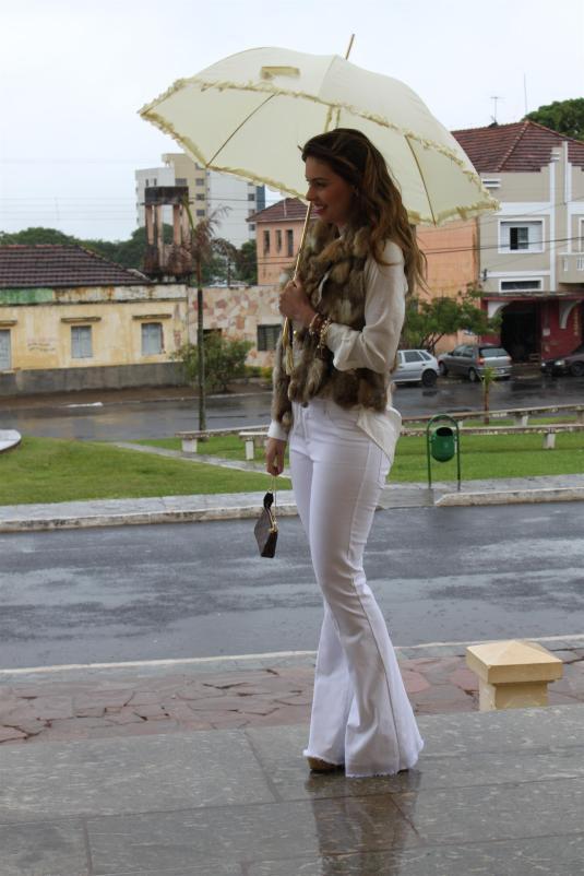 Dia de chuva + look