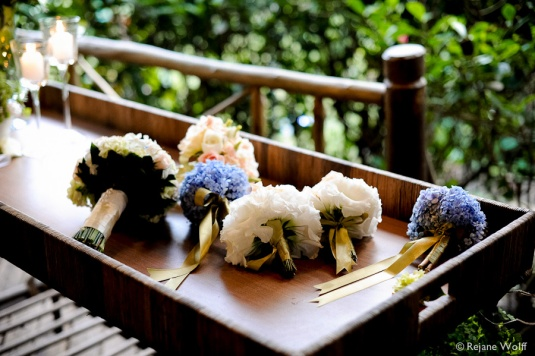 Blog Sarah Leão - Miquéias Madalena - Casamento - Buquê - Hortênsias