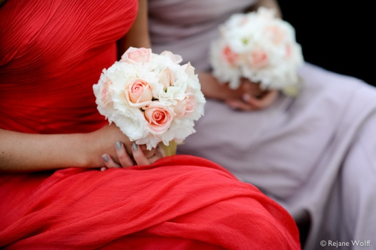 Blog Sarah Leão - Miquéias Madalena - Casamento - Buquê - Hortênsias - Buquê de daminhas