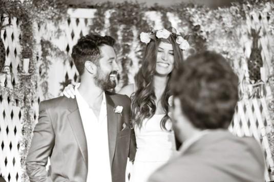 Blog Sarah Leão - Miquéias Madalena - Casamento - Noiva - Guirlanda de flores