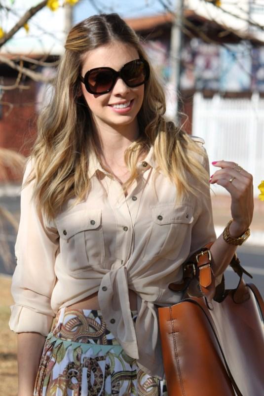 Look verão-Look saia- Estampadecobra- Sarah Leão- Blogsarahleão