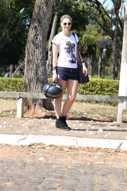 Harley Davidson- Look do dia- Sarah Leão- Blog Sarah Leão